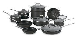 Cuisinart 66-17 Chef's Classic Nonstick Hard-Anodized 17-Piece Cookware Set