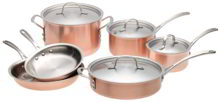 Calphalon copper set